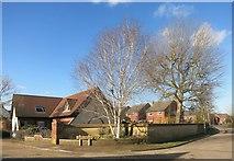 SP7409 : Mallard Croft, Haddenham by Des Blenkinsopp