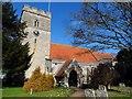 SU6894 : St Leonard's church by Bikeboy