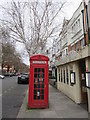 TQ2582 : K2 Phone box on Lauderdale Road by David Anstiss