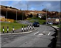 SS8694 : Traffic calming in the Blaencaerau Estate, Caerau by Jaggery