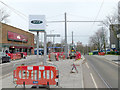 SK5534 : Clifton Centre tram stop by Alan Murray-Rust