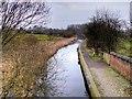 SD7706 : Manchester, Bolton & Bury Canal; Eastwards from Nickerhole Bridge by David Dixon