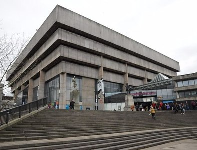 SP0686 : Birmingham's redundant Central Library by Philip Halling