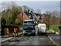 H4672 : Road repairs, Knockgreenan Close, Omagh : Week 13