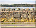 SD7217 : 1833 Datestone on Dam Wall by Gary Rogers