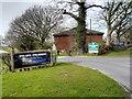 SJ9181 : Entrance to Adlington Golf Centre, London Road by David Dixon