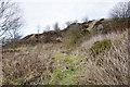 SE0339 : Former quarry track near Spring Wells by Bill Boaden