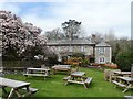 SW8765 : Beer Garden - The Falcon Inn, St Mawgan by Anthony Parkes