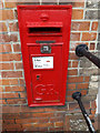 TM0262 : Post Office Old Street George V Postbox by Adrian Cable