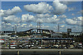 TQ5575 : View of the Dartford Crossing : Week 15