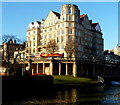ST7564 : River view of the Empire building, Bath by Jaggery