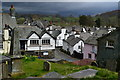 SD3598 : Hawkshead rooftops from the churchyard : Week 15