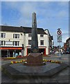 SJ8446 : Newcastle-under-Lyme: war memorial in Red Lion Square by Jonathan Hutchins