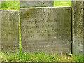 SK6826 : Belvoir Angel headstone, Upper Broughton Churchyard by Alan Murray-Rust