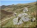 SH7070 : Perched erratic boulders by Jonathan Wilkins
