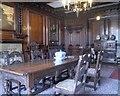 SD7315 : Dining Room, Turton Tower by David Dixon