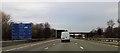 SJ6981 : Services sign and Cann Lane bridge by John Firth