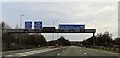 SJ6683 : M6 junction 20 from the south by John Firth