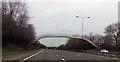 SJ5798 : Footbridge over the M6 by John Firth