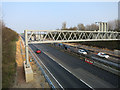 TL4261 : Third lane open on the A14 by Hugh Venables