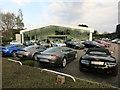 TL4251 : Aston Martin dealership, Harston by Hugh Venables