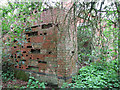 TF7336 : Ruined building in Whin Close by Evelyn Simak