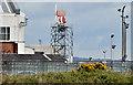 J3676 : Radar, George Best Belfast City Airport (April 2015) by Albert Bridge