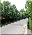 ST1677 : Road along the SW edge of Pontcanna Fields, Cardiff by Jaggery
