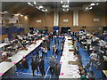 SZ1293 : Littledown: election count underway by Chris Downer