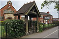 TA1230 : Polling Station at Sacred Heart Church Hall by Ian S
