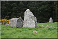 NJ9547 : Aikey Brae Recumbent Stone Circle (6) by Anne Burgess