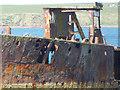 HY4708 : Wreck of the Juniata (detail) : Week 18