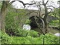NS9965 : Bridge over the River Almond by M J Richardson