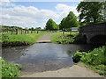 SK6380 : Ford and bridge at Scofton : Week 20