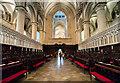 TR1557 : The Choir, Canterbury Cathedral by J.Hannan-Briggs
