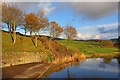 SJ9471 : Reservoir at Tegg's Nose Country Park by Wayland Smith