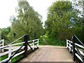 ST9461 : Rusty Lane heading south from its swingbridge [No 151] by Christine Johnstone