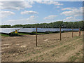 TL3843 : Solar farm, Muncey's Farm by Hugh Venables