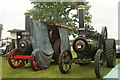 "TL1807 : View of Sir William and a Marshall traction engine ""Winifred"" in the St Albans Steam and Country Show : Week 22"