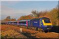 ST9898 : Express train near Kemble by Wayland Smith