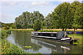 TL1597 : Canal Boat at Ferry Meadows by Wayland Smith