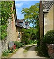 SU3493 : Village houses, Stanford in the Vale, Oxfordshire : Week 22