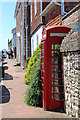 TQ9017 : K6 phone box, High Street by Oast House Archive