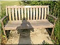 TL3755 : Memorial bench by Dave Thompson