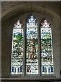 SU7433 : Selborne - St.Mary's - St Francis Window by Rob Farrow
