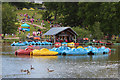 TQ6039 : Pedalos at Dunorlan Park by Oast House Archive