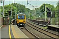 SJ8581 : Northern Rail Class 323, 323225, Wilmslow railway station by El Pollock
