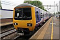 SJ7666 : Northern Rail Class 323, 323234, Holmes Chapel railway station by El Pollock