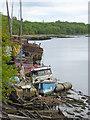 NZ3556 : Boat graveyard on the Wear : Week 24