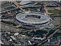 TQ3784 : The Olympic Stadium from the air by Thomas Nugent